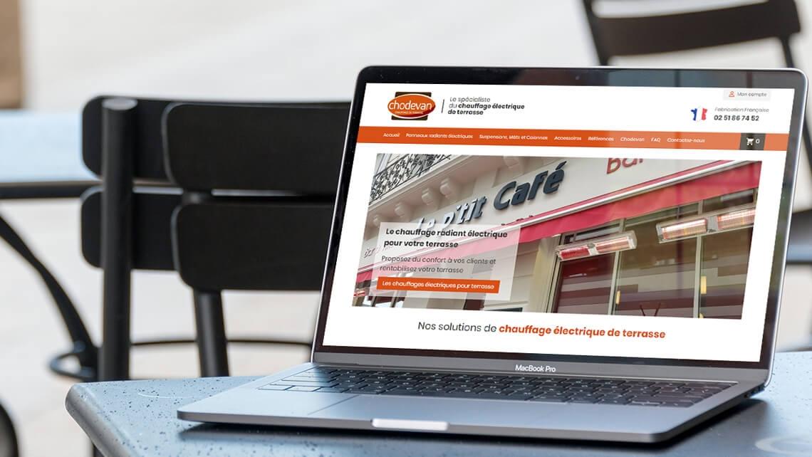 Création du site e-commerce de Chodevan par Kagency Nantes