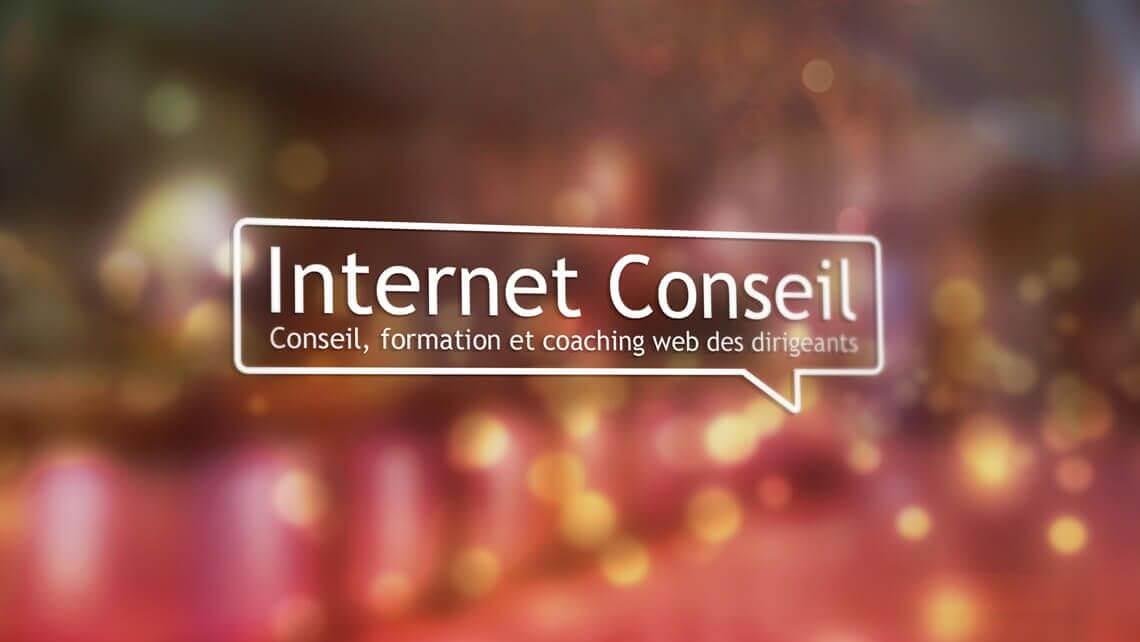 création site web et logo Internet Conseil - Nantes