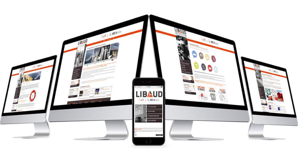 Créations sites satellites du Groupe Libaud