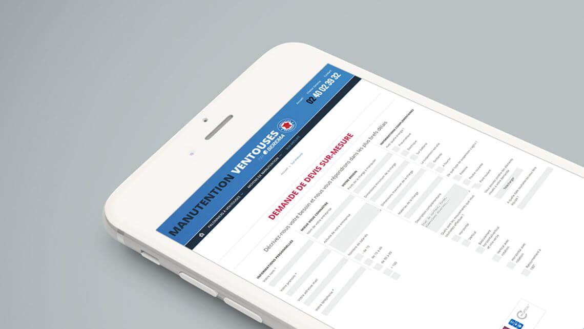 Module de création de formulaires de contact administrables par Kagency