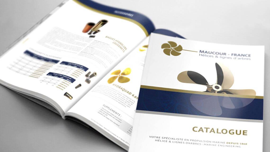 Création catalogue papier - Kagency