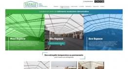 Kagency Nantes en charge de la création site internet d'ESPACE STOCKAGE