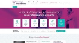 Création du site web Annonces des Caducées par Kagency Nantes
