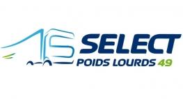Création du site web Select Poids Lourds Angers par Kagency Nantes