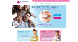 Kagency en charge de la création du web design pour le site internet Spoony Gloss®