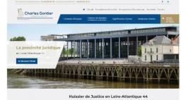 Kagency Nantes réalise le site web Huissier44