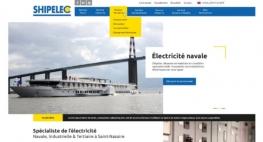 Création du web-design de SHIPELEC Saint-Nazaire par Kagency Nantes