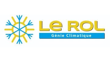 Création du logo de LE ROL Génie Climatique par Kagency, agence web à Nantes