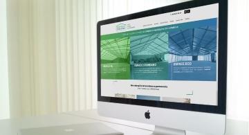 Création du site web B to B d'ESPACE STOCKAGE Nantes par Kagency
