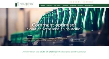 Intégration web de la maquette de Néo Options Nantes par Kagency