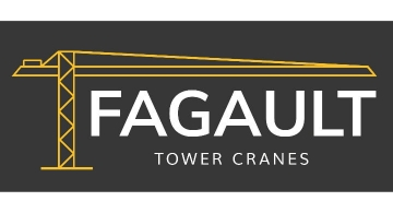 Création du site web de Fagault Tower Cranes par Kagency Nantes