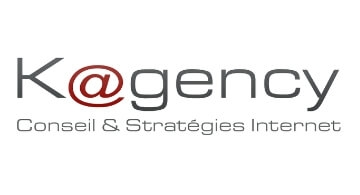 Refonte du logo de Kagency, agence web à Nantes