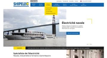 Kagency Nantes réalise le web-design du site internet de SHIPELEC Saint-Nazaire
