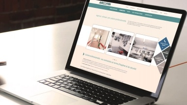Refonte du site internet d'Arclynn par Kagency Nantes