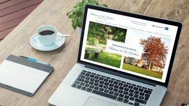 Création du site internet du Château de la Droitière à Mauves-sur-Loire par Kagency Nantes