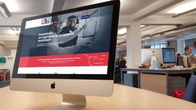 Création du nouveau site web d'A2Ti Nantes