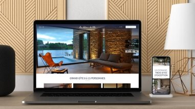 Création du site web du Domaine de Beaucé par Kagency Nantes
