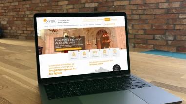 Nouveau site web pour Delestre Industrie Cholet réalisé par Kagency