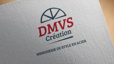 Création logo pour DMVS Création Acier par Kagency Nantes