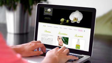 Site web esthéticienne à domicile - Kagency