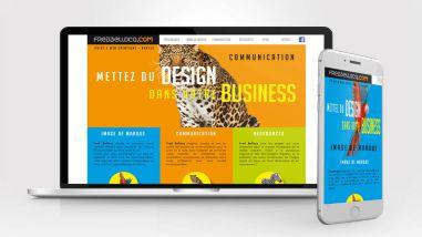 Développement du site web de Fred Bellocq Nantes par Kagency