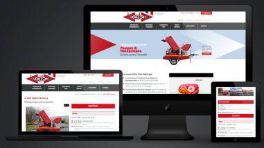 Refonte du site web de la société Haka par Kagency Nantes