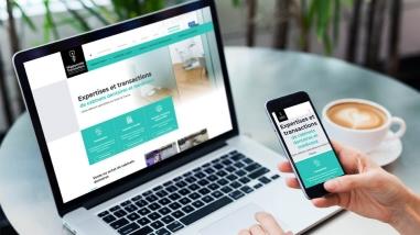 Refonte du site web Hippocrate Transactions par Kagency Nantes