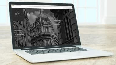 Création du site internet d'Iyya Patrimoine Nantes - Paris par Kagency