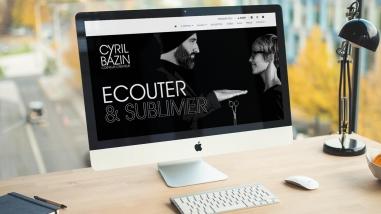 Création du site web de Cyril Bazin Coiffeur Créateur par Kagency Nantes
