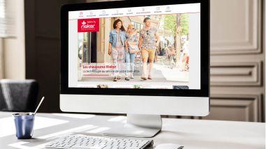 Création du site web des Chaussures Rieker par Kagency