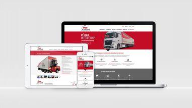 Création du site web Tred Chariot Le Mans par Kagency