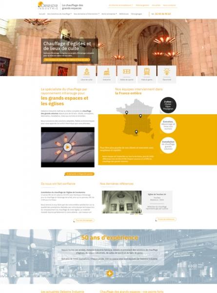 e81a35ed7eb Création du nouveau site web et référencement naturel pour Delestre  Industrie ...