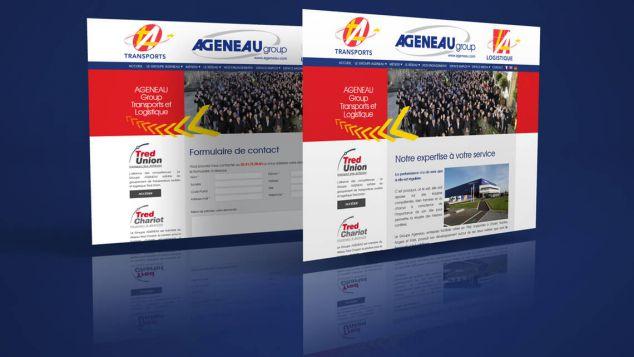 refonte web Ageneau - Nantes - Cholet