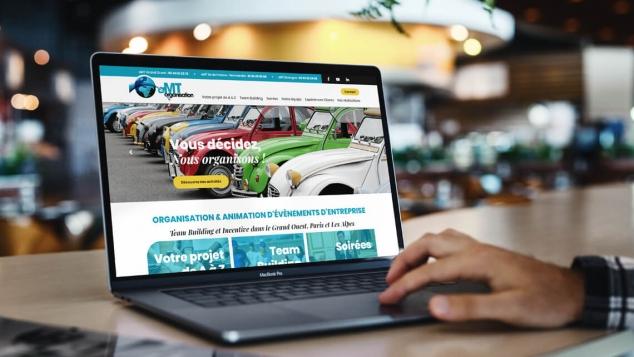 Création du nouveau site web d'AMT Organisation par Kagency Nantes