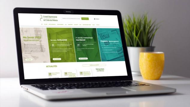 Création du site web du Conseil de l'Ordre des Médecins de Loire-Atlantique - Nantes par Kagency