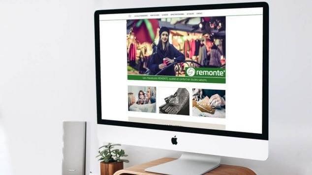 Création du site internet des Chaussures Remonte par Kagency Nantes