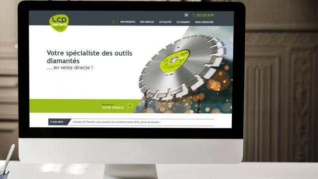 Création du site web LCP Diamant par Kagency Nantes