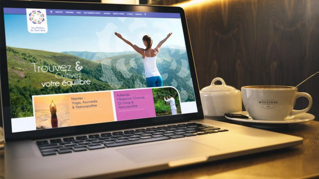 Création du site web des Ateliers du Bien-être Nantes et Aubenas