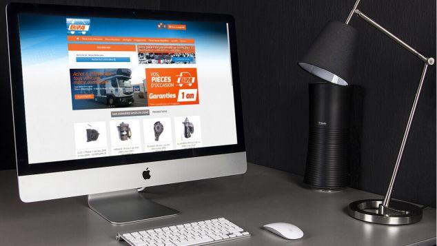 Création du site internet e-commerce pour COPA Pièces Auto Occasion (Nantes - Cholet) par Kagency