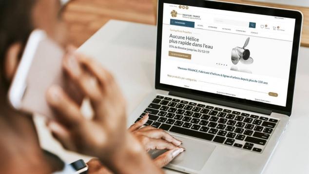 Création du site e-commerce de Maucour par Kagency Nantes