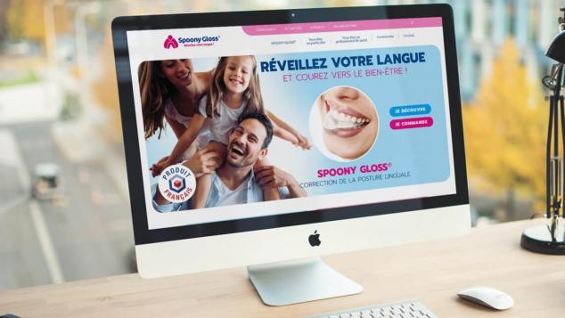 Création du site marchand de Spoony Gloss® par Kagency Nantes