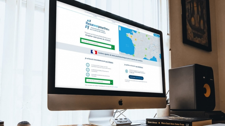 Développement d'une plateforme web d'inscription à des  tests par Kagency Nantes