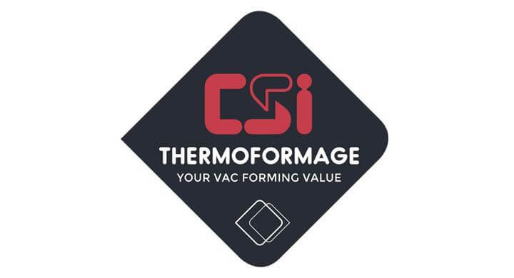 Refonte du logo de CSI Thermoformage par Kagency