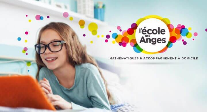 Kagency réalise le site web de l'Ecole des Anges à Nantes