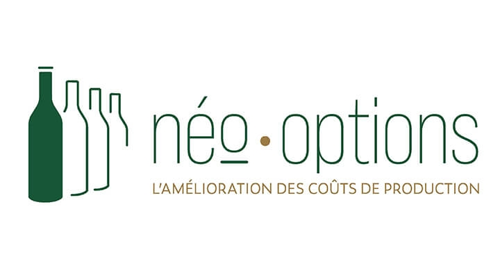 Création du logotype de Neo-Options par Kagency Nantes