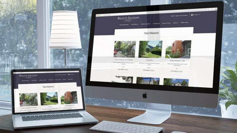 Témoignage de Brigitte Sauvager Immobilier sur l'agence web Kagency Nantes