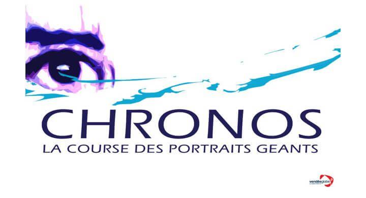 Kagency, partenaire de Chronos, la Course des portraits géants  au Vendée Globe.