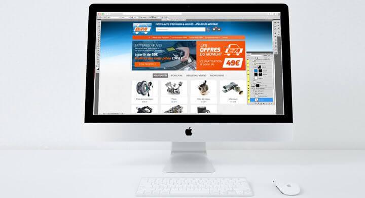 La maquette du futur site marchand du spécialiste de la pièce détachée automobile a été validée.