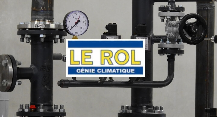 Kagency Nantes en charge de la création du logo de LE ROL Génie climatique