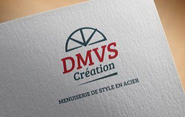 Identité graphique et création de logo pour DMVS Création